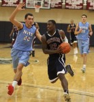 Jerone Desrosiers guards Jared Terrell