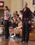 coaches Erin OConnell and Katie Titus