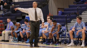 Nashua North coach Stephen Lane