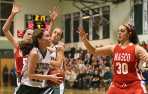 Kelsi McNamara eyes the hoop