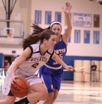 Andrea Terranova heads for the hoop