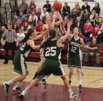 Lilly Donovan shoots in the lane
