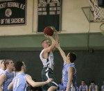 Jeff Porter floats over Brad Whitman
