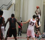 Rashad Keys scores a three early in overtime