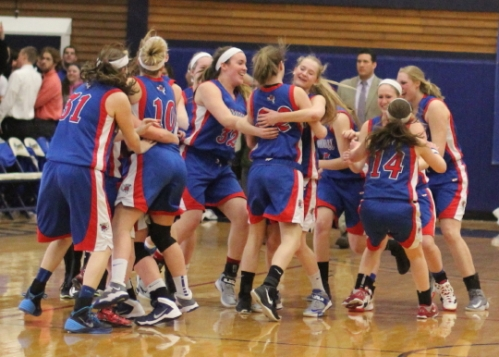 Celebrating begins for the D1 champion Londonderry Lancers
