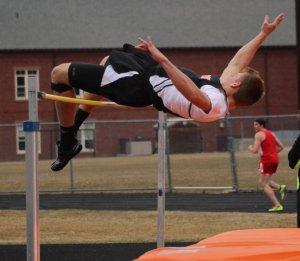 Ryan White was high jump winner