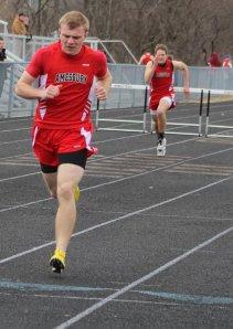 Pat Halloran captures 400 hurdles