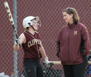 Amy Sullivan and Coach Lori Solazzo