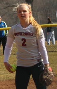 Sarah Dupere (two-hitter with seven strikeouts)