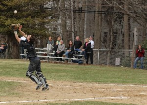catcher Brett Harring