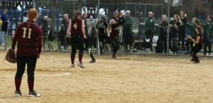 Carley Siemasko catches the final out