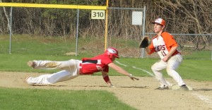 Pickoff attempt