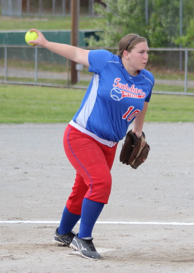 Shannon McLaughlin (one hitter with eleven strikeouts)