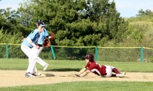 Scott Webster steals second