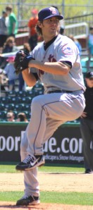 Greg Peavey pitched a 2-hitter for Binghamton