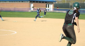 Triton second baseman Kylie Gilroy had 3 defensive gems in the 7th inning