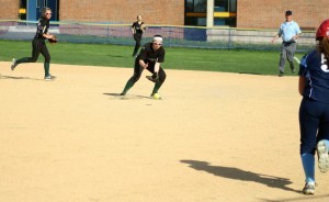 Mary Kate Corrado fields a grounder