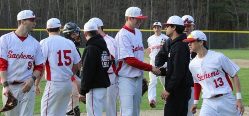 Joey Bertrand congratulated after the game