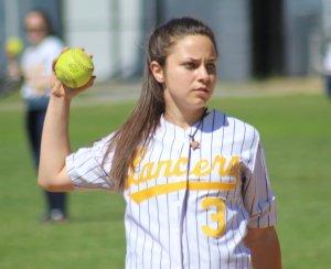 shortstop Kaycie Pereira