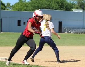 Alexis Boswell scored three runs and drove in two runs
