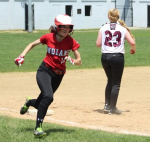 Lucy Scholz scored two runs