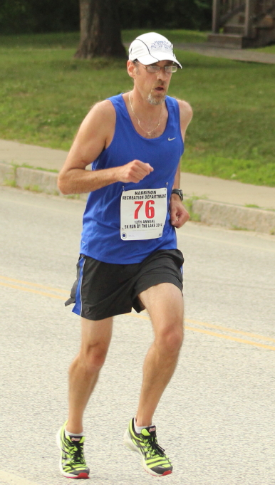 David Krall topped the Harrison 5K field at 18:11
