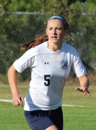 Junior Julia Quinn netted four goals in the Raiders win