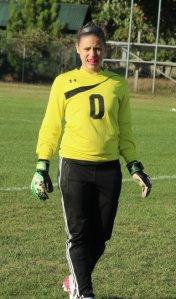 FA goalie Makayla Cooper