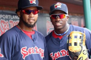 Keury De La Cruz and Rusney Castillo
