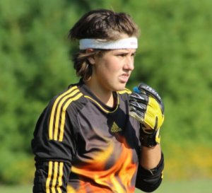 Despite the two goals Lakers GK Isabel Scribner made some terrific saves