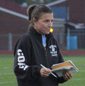 Windham coach Deb Lebel