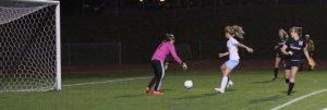 Emily Robida leaves a rebound