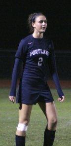 Madison Bolduc scored the first Portland goal