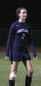 Madison Bolduc scored the first Portland goal