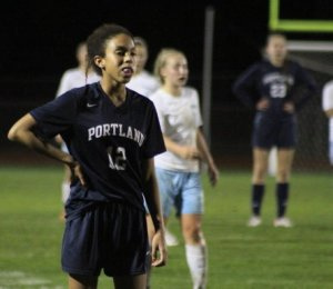 Ella Altidor put Portland in front by two goals