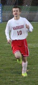 Freshman Liam Bell