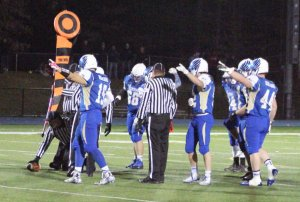 Newtown defense makes crucial stop