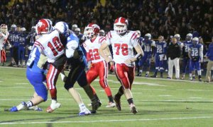 Tim Krapf and Jake Lambert lower the boom on QB Zach Kaufman