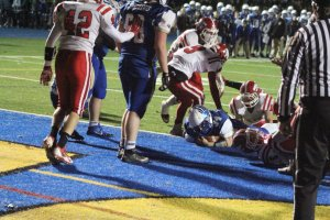 Nick Rubino (34) gets 13th touchdown