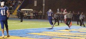 Julian Dunn picks off pass intended for Joe Capodagli