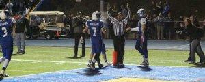 Touchdown signaled