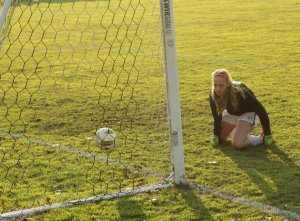 long afternoon for Marianapolis GK Jordan Desaulnier