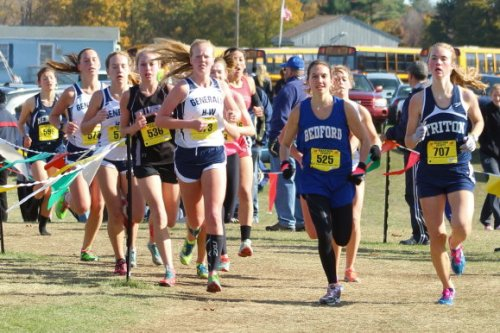 Maddie Quigley (Triton) with lead pack