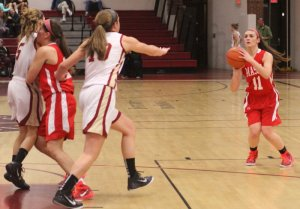 Lauren Sorel (13 points) had 3 more 3-pointers for Masco