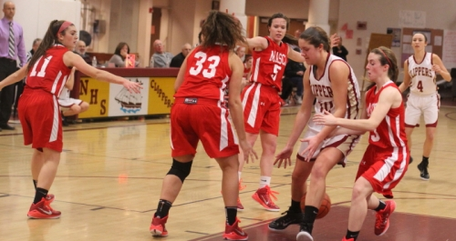 Emily Pettigrew saw plenty of Masco defense