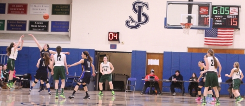 Colleen Jameson killed Arlington Catholic with five 3-pointers