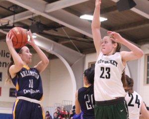 McKenna Killian goes for the block