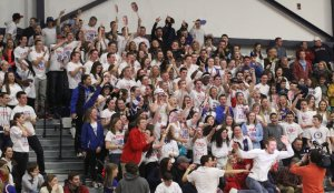 Londonderry student section