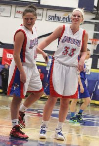 Noelle Lambert and Tara Burke (11 points)