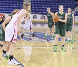 Audrey Tipson brought Pentucket within a point making two free throws in the last minute